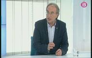 Entrevista al conseller d'Educació i Universitat, Martí March