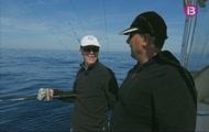 Pesca de dèntols, sopa torrada de peix, Teresa Pou navegant
