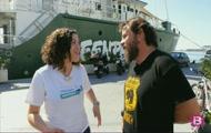 Pesca d'altura i el Rainbow Warrior de Greenpeace