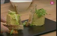 'Paté de pastanaga i peix' i 'Casadielles de xocolata a la Instxaursalsa'