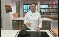 'Crema de moniato i ametla' i 'Plàtan amb tempura'