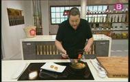 'Croquetes quadrades de cuixot i pollastre' i 'Mousse de xocolata blanca i taronja amb blat de les Índies'