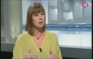 Francina Armengol, candidata PSIB-PSOE al Parlament